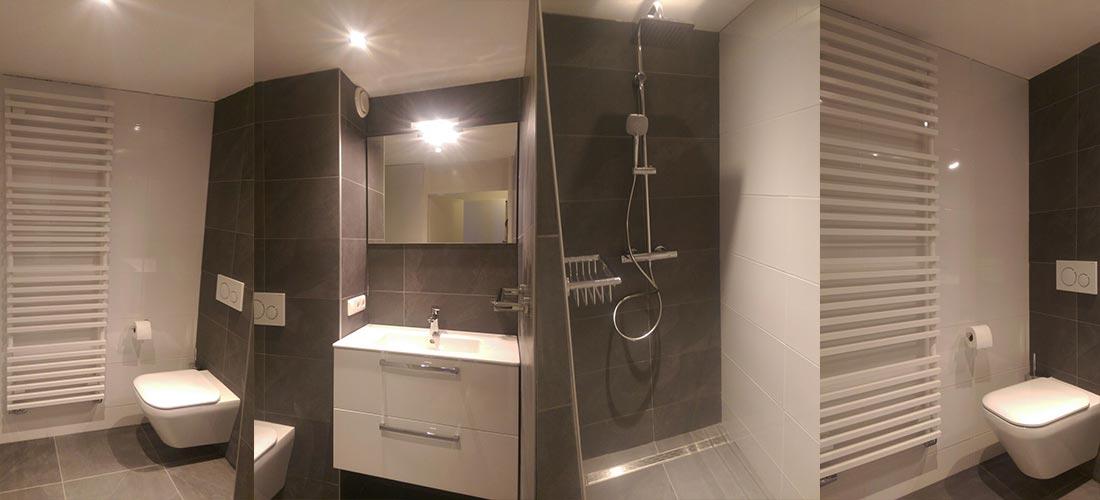 Strakke badkamer voor familie Dalfsen | IJsselmuiden