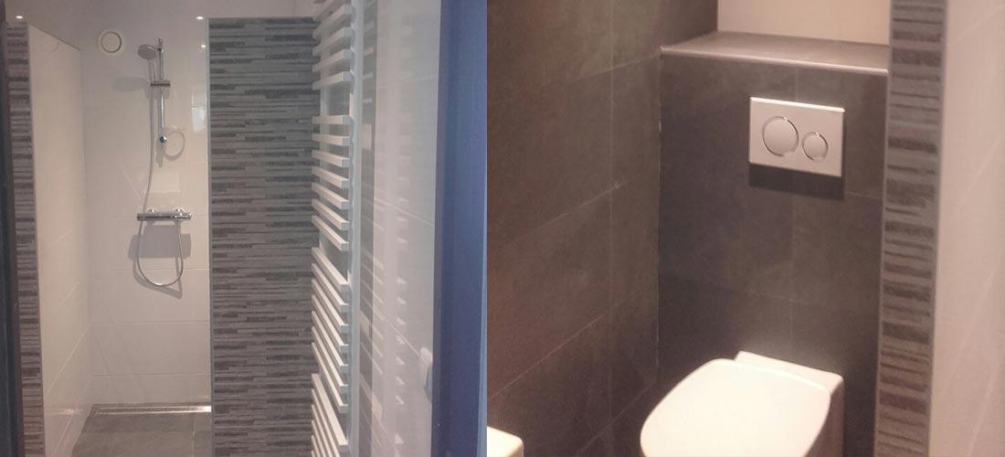 Badkamer met grijstinten | IJsselmuiden